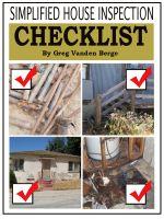 Cover for 'Simplified House Inspection Checklist'