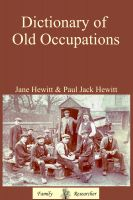 Cover for 'Dictionary of Old Occupations'