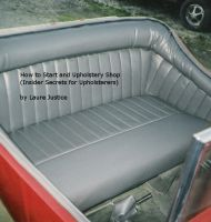 Cover for 'How to Start an Upholstery Shop (Insider Secrets for Upholsterers)'
