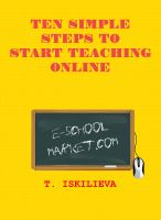 Cover for 'Ten Simple Steps to Start Teaching Online'