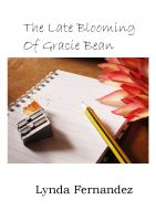Cover for 'The Late Blooming of Gracie Bean'