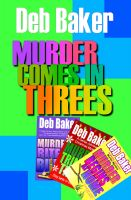 Cover for 'Murder Comes in Threes'