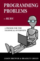 Cover for 'Programming Problems in Ruby'