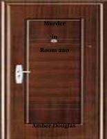 Cover for 'Murder in Room 220'