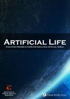 Cover for 'Artificial Life (AL) Evolution process in a computer simulated artificial world'