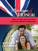Cover for 'Marriage Of Honor'