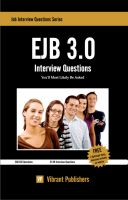 Cover for 'EJB 3.0 Interview Questions You'll Most Likely Be Asked'
