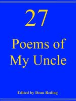 Cover for '27 Poems of My Uncle'