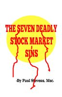 Cover for 'The 7 Deadly Stock Market Sins'