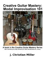 Cover for 'Creative Guitar Mastery: Modal Improvisation 101'