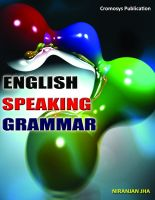 Cover for 'English Speaking and Grammar'
