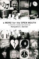Cover for 'A Word For the Open Mouth'