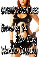Cover for 'Bound by the Biker Gang (Gangbang Adventures)'
