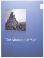 Cover for 'The Abundance Myth'