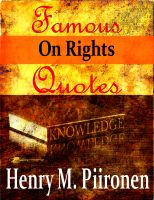 Cover for 'Famous Quotes on Rights'