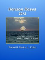 Cover for 'Horizon Roses 2012'
