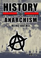 Cover for 'Political Philosophy - History of anarchism II'
