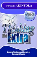 Cover for 'Thinking The Extra'