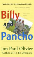 Cover for 'Billy and Pancho'