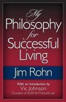 Cover for 'My Philosophy for Successful Living'