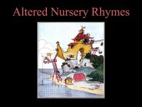 Altered Nursery Rhymes cover