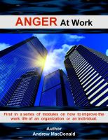 Cover for 'ANGER At Work'