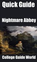 Cover for 'Quick Guide: Nightmare Abbey'