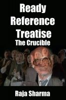 Cover for 'Ready Reference Treatise: The Crucible'