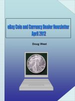 Cover for 'eBay Coin and Currency Dealer Newsletter - April 2012'