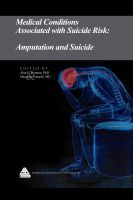 Cover for 'Medical Conditions Associated with Suicide Risk: Amputation and Suicide'