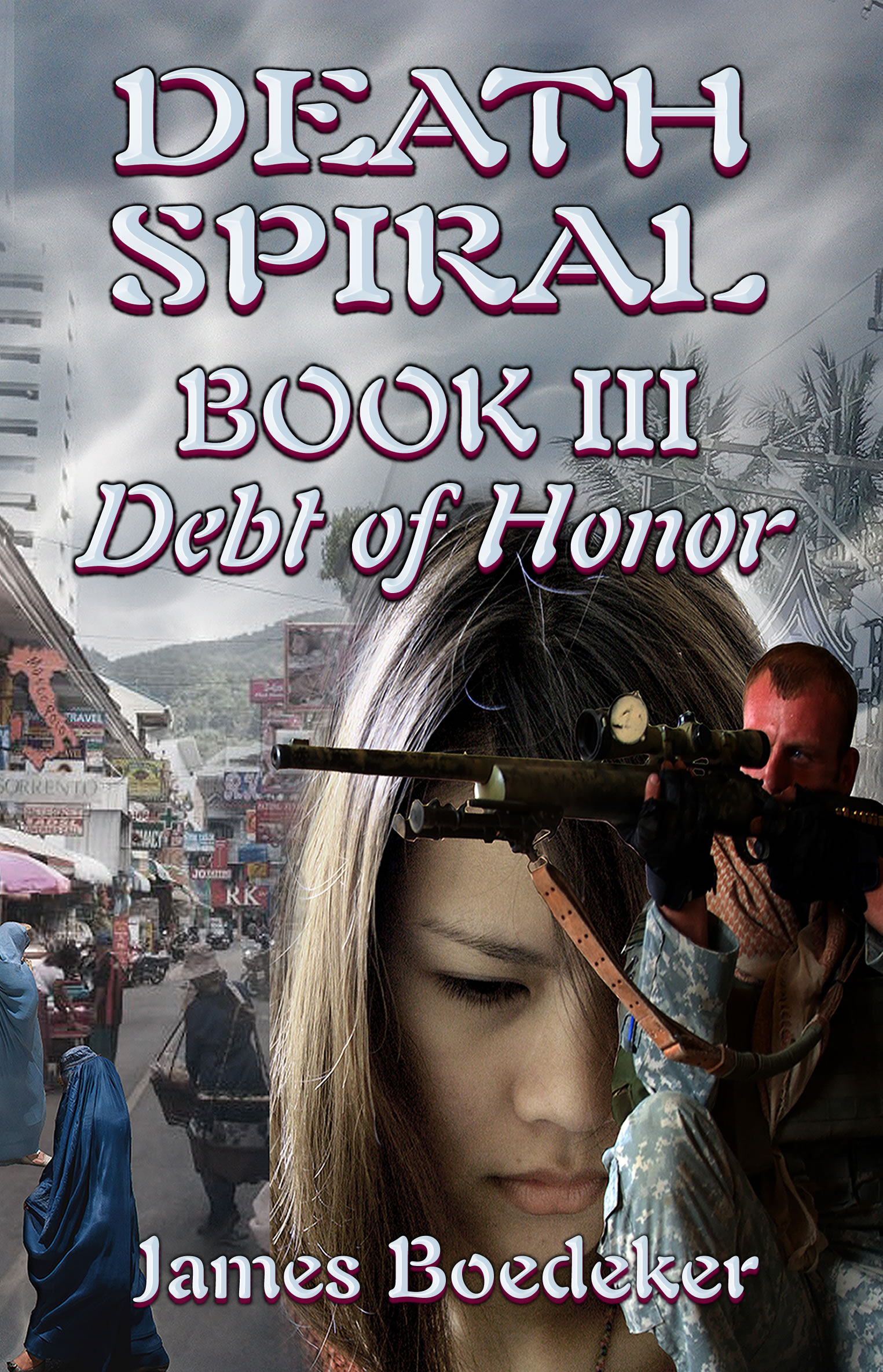 James Boedeker fiction set in Thailand - Death Spiral.
