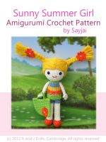 Cover for 'Sunny Summer Girl Amigurumi Crochet Pattern'