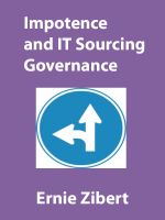 Cover for 'Impotence and IT Sourcing Governance'