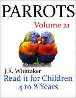 Cover for 'Parrots (Read it book for Children 4 to 8 years)'