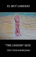 "Cover for '""The Legend Quiz,"" Test Your Knowledge'"