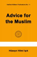 Cover for 'Advice for the Muslim'