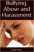 Cover for 'Bullying, Abuse and Harassment'