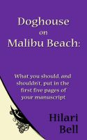 Cover for 'Doghouse on Malibu Beach: What you should, and shouldn't, put in the first five pages of your manuscript'