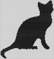 Cover for 'Cat Cross Stitch Pattern'