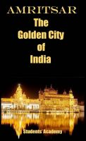 Cover for 'Amritsar-The Golden City of India'