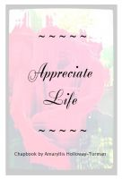 Cover for 'Appreciate Life'