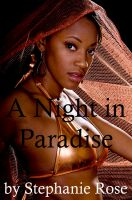Cover for 'A Night in Paradise (A Lesbian Erotic Short Story)'