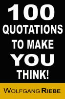 Cover for '100 Quotations to Make You Think!'