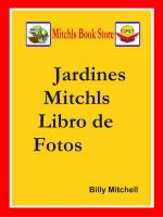 Cover for 'Jardines Mitchls Libro de Fotos'