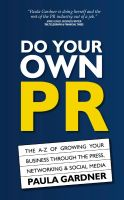 Cover for 'Do Your Own PR'