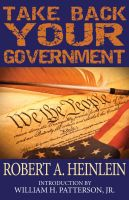 Cover for 'Take Back Your Government'
