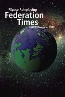 Cover for 'FSpace Roleplaying Federation Times issue 9, December 2009'