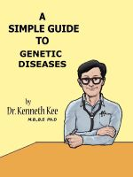 Cover for 'A Simple Guide to Genetic Diseases'