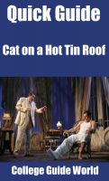 Cover for 'Quick Guide: Cat on a Hot Tin Roof'