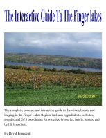 Cover for 'The Interactive Guide To The Finger Lakes'